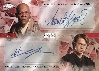 2019 Topps Star Wars Chrome Legacy Trading Cards 8