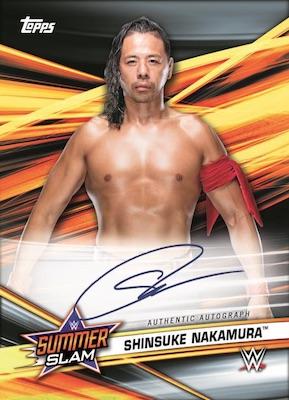 2019 Topps WWE SummerSlam Wrestling Cards 2