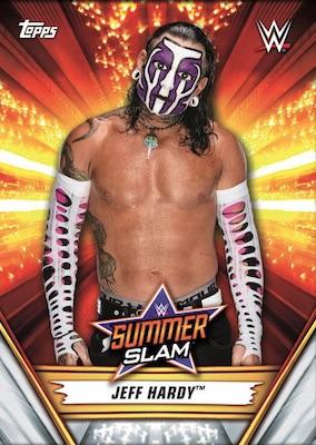 2019 Topps WWE SummerSlam Wrestling Cards 1