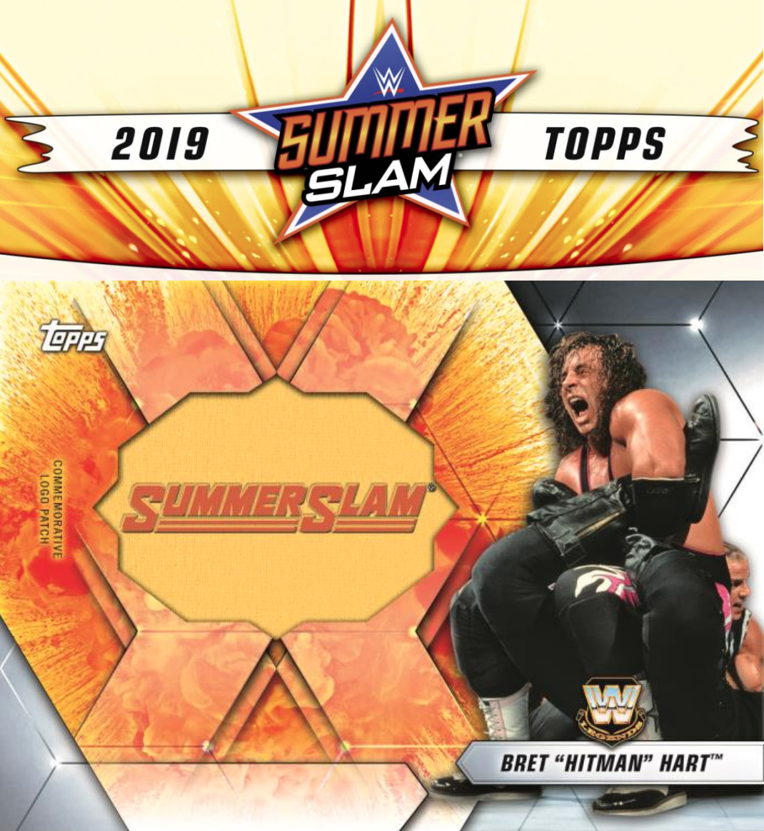 2019 Topps WWE SummerSlam Checklist, Set Info, Boxes, Date