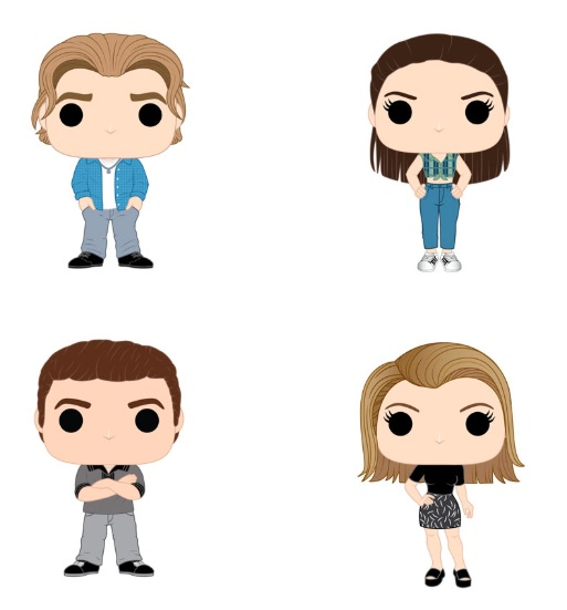 Funko Pop Dawson's Creek Vinyl Figures 1