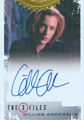 2019 Rittenhouse The X-Files Archives Classic Autographs Cards 21
