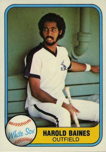 Top 10 Harold Baines Baseball Cards 9