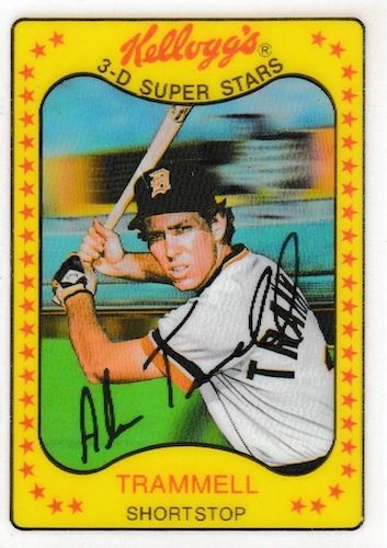 Top 10 Alan Trammell Baseball Cards 1