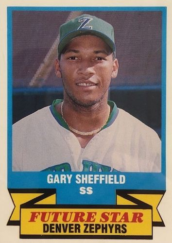 Top 10 Gary Sheffield Baseball Cards 2
