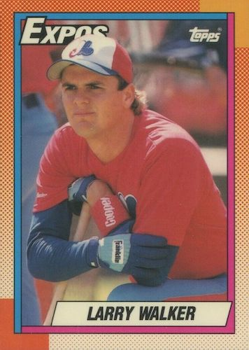Top 10 Larry Walker Baseball Cards 10