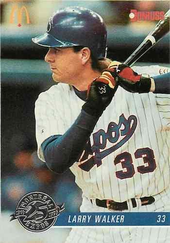 Top 10 Larry Walker Baseball Cards 1