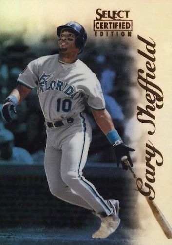 Top 10 Gary Sheffield Baseball Cards 8
