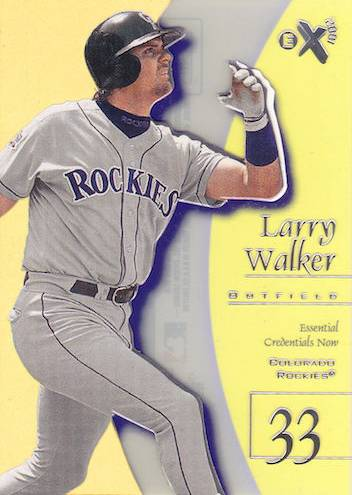 Top 10 Larry Walker Baseball Cards 5