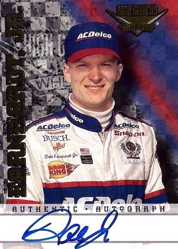 Top 10 Dale Earnhardt Jr. Racing Cards 7