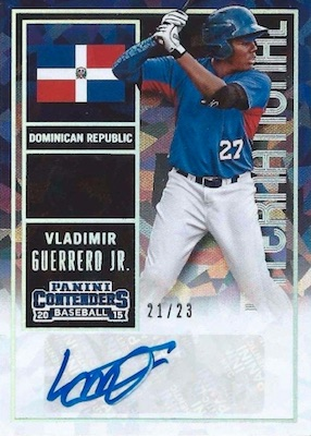 Top Vladimir Guerrero Jr. Rookie Cards and Prospects 26