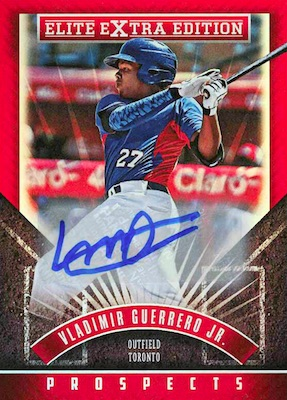 Top Vladimir Guerrero Jr. Rookie Cards and Prospects 27