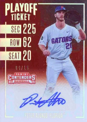 Pete Alonso Rookie Cards Guide and Top Prospects List 7