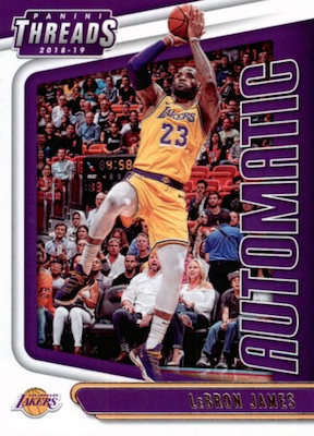 2018-19 Panini Threads Basketball Cards 28