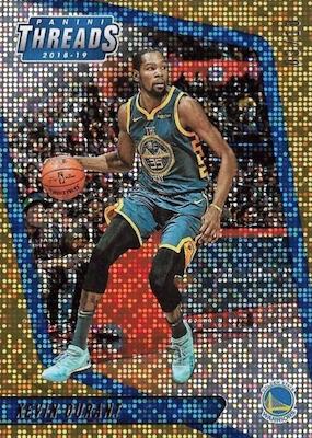 nouveau concept 9c7f2 61929 2018-19 Panini Threads Basketball Cards