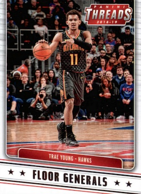 2018-19 Panini Threads Basketball Cards 33