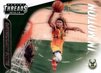2018-19 Panini Threads Basketball Cards 6