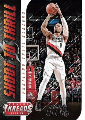 2018-19 Panini Threads Basketball Cards 37