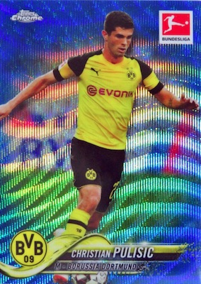 2018-19 Topps Chrome Bundesliga Soccer Cards 3