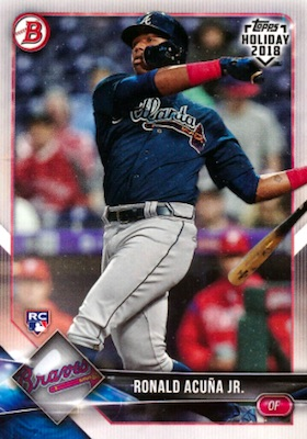 Ronald Acuna Jr. Rookie Cards Checklist and Gallery 4