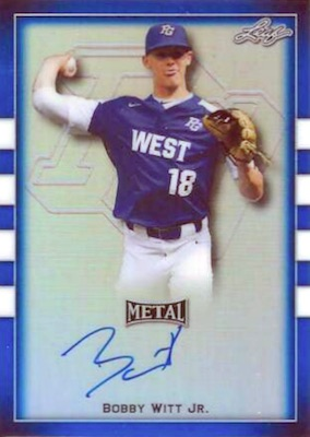 2018 Leaf Metal Perfect Game All-American Classic Baseball Cards 20