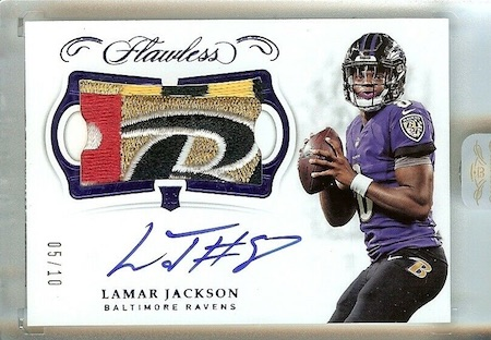 2018 Panini Flawless Football Cards 28