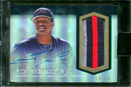 Ronald Acuna Jr. Rookie Cards Checklist and Gallery 32