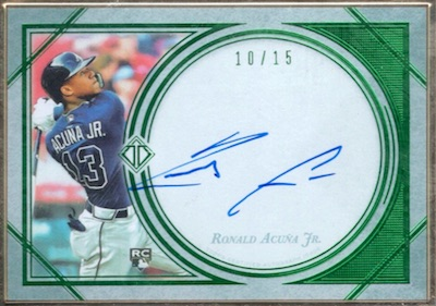 Ronald Acuna Jr. Rookie Cards Checklist and Gallery 48