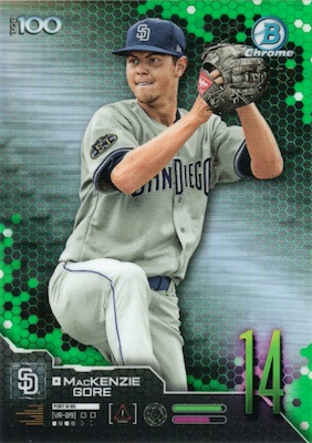 2019 Bowman Baseball Cards Lucky Redemption