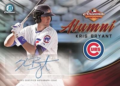 2019 Bowman Chrome Baseball Cards – Checklist Added