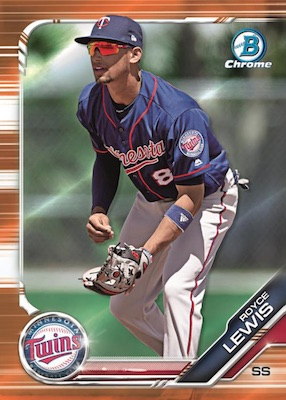 2019 Bowman Chrome Baseball Cards 2