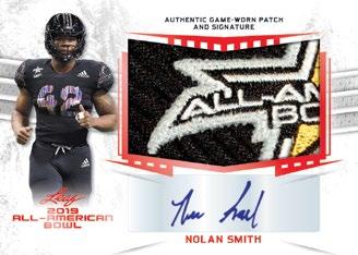 2019 Leaf Metal All-American Bowl Football Cards - Checklist Added 3