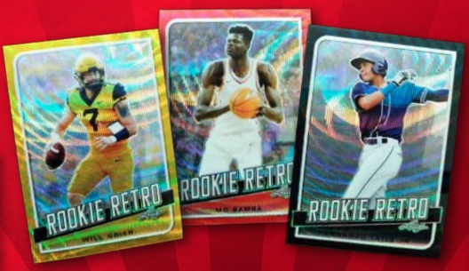 2019 Leaf Rookie Retro Multi-Sport Cards - Checklist Added 4