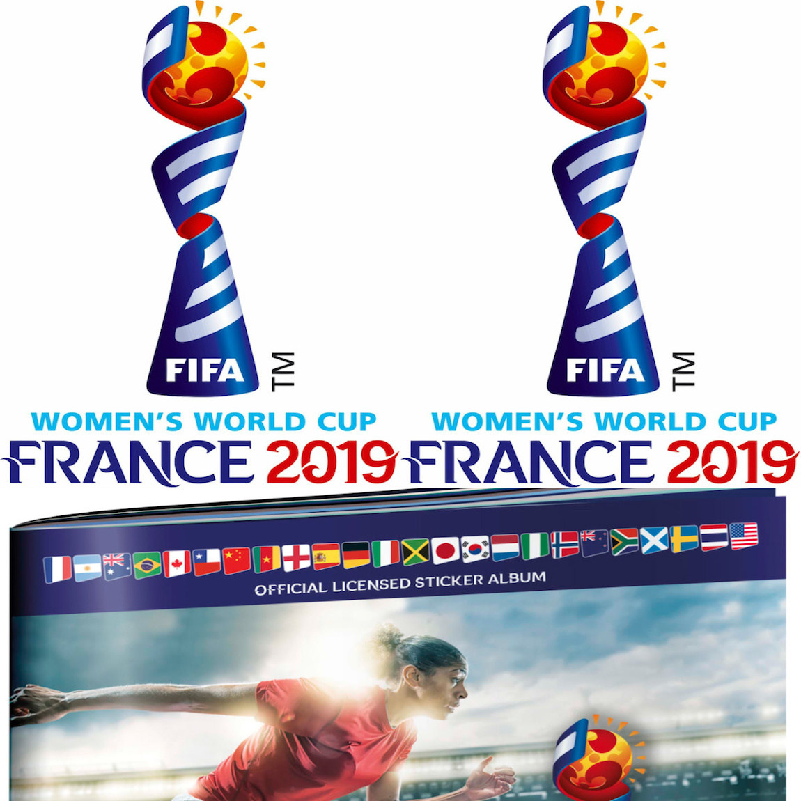 0f6e201b179 2019 Panini FIFA Women's World Cup France Stickers Checklist, Boxes