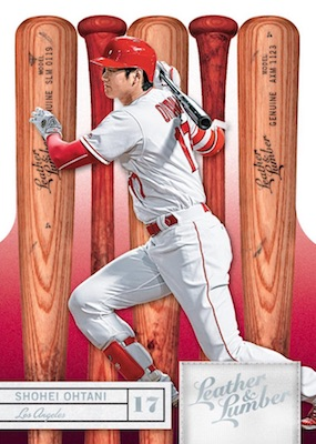 2019 Panini Leather & Lumber Baseball Cards 3