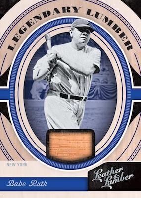 2019 Panini Leather & Lumber Baseball Cards 9