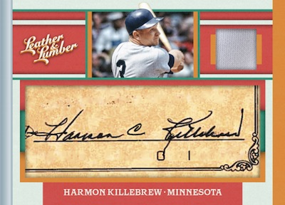 2019 Panini Leather & Lumber Baseball Cards 7