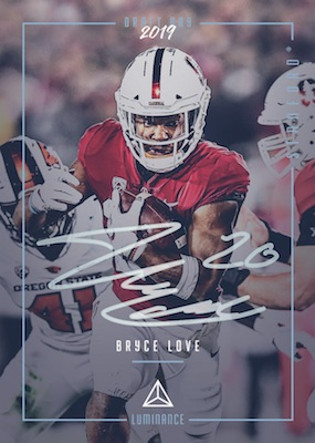 2019 Panini Luminance Football Cards 6