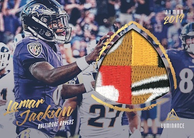2019 Panini Luminance Football Cards 9