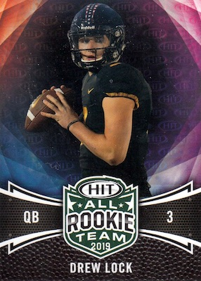 2019 Sage Hit Premier Draft High Series Football Cards 4