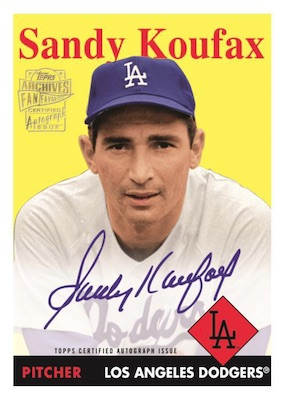 2019 Topps Archives Baseball Cards 6