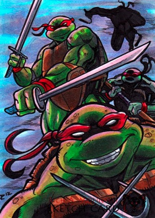 2019 Topps Art of TMNT Teenage Mutant Ninja Turtles Trading Cards 5