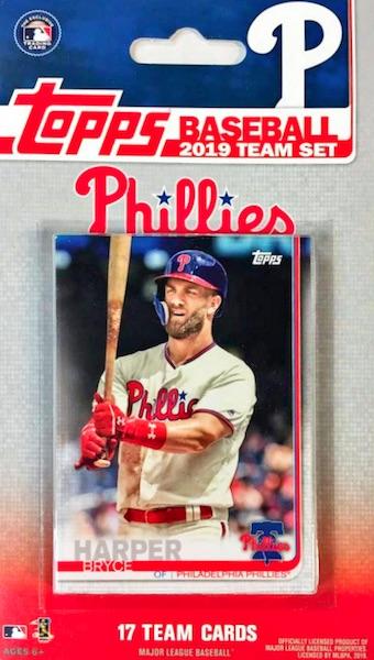 2019 Topps Baseball Factory Team Set Cards 1