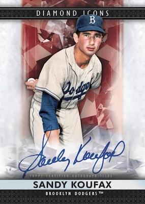 2019 Topps Diamond Icons Baseball Cards 1