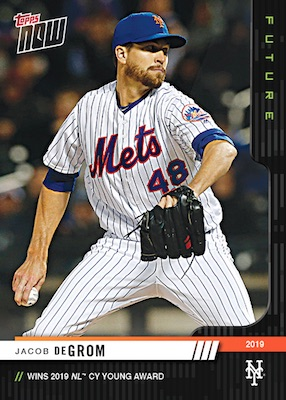 2019 Topps Now Future Award Winners Baseball Cards 4