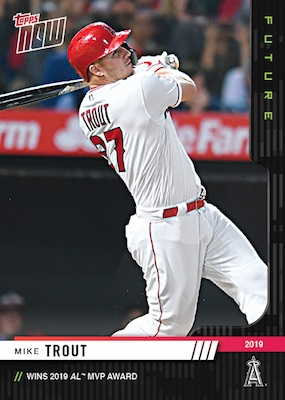 2019 Topps Now Future Award Winners Baseball Cards 5