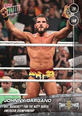 2019 Topps Now WWE Wrestling Cards - WrestleMania 35 4
