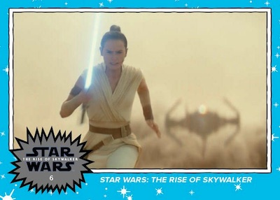 2019 Topps Star Wars Rise of Skywalker Trailer Trading Cards 4