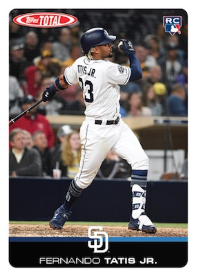 2019 Topps Total Baseball Cards - Wave 9 Checklist 5