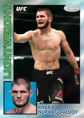 2019 Topps UFC Chrome MMA Cards 3